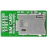 MIKROE-314, SIM Card Holder Board, Держатель для SIM-карт