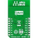 Фото 4/4 MIKROE-1527, CC3000 click, Wi-Fi модуль форм фактора mikroBUS на базе CC3000MOD