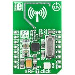 MIKROE-1305, nRF T click, Радиомодуль (приемопередатчик) ...
