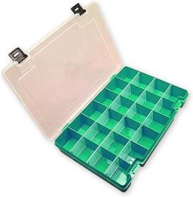 Тип-7, Коробка, органайзер,6 съемных перегородок, 270х180х50мм (отклонение +/- 5 %)