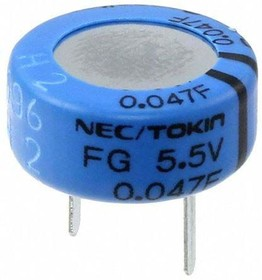 FG0H473ZF, Supercapacitor 0.047F 5.5