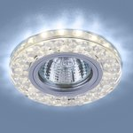 Фото 3/6 2194 MR16 / Светильник встраиваемый SL/WH зеркальный/белый