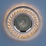 Фото 4/6 8355 MR16 / Светильник встраиваемый CL/CH прозрачный/хром