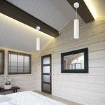 Фото 2/9 DLR023 12W 4200K / Светильник светодиодный стационарный белый матовый