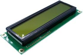 Фото 1/2 WH1602L1-YYH-CT#, LCD дисплеи