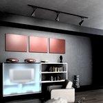 Фото 2/9 LTB18 / Светильник потолочный светодиодный Hardi Черный 9W 4200K