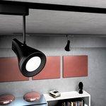 Фото 3/9 LTB18 / Светильник потолочный светодиодный Hardi Черный 9W 4200K