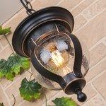 Фото 2/6 GL 1025H / Светильник садово-парковый Barrel H черное золото