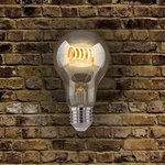 Фото 2/4 Classic FD 6W 4200K E27/ Светодиодная лампа A60 спираль прозрачный