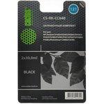 Заправочный комплект CACTUS CS-RK-CC640, для HP, 60мл, черный