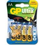 15AUP (A316/LR6/AA)6, Элемент питания алкалиновый Ultra Plus ...