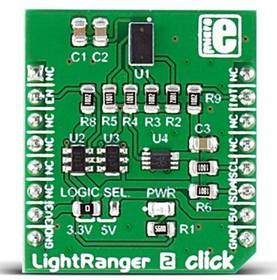 MIKROE-2509, Light ranger 2 Click Time