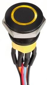 AV9522F1020870K, Black,Mom,IP65,200mm Wire