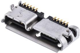 ZX360D-B-10P(30), CONN RCPT USB 3.0 MICRO B