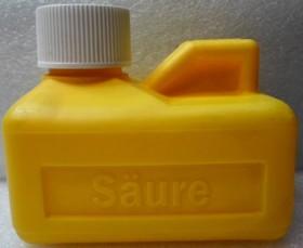 Saure, Флакон для кислоты 125мл (желтый)