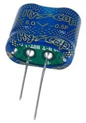 VEC6R0504QG I, 0.5 Ф, 6 В, 8.5×17.0×15.5, Ионистор