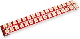 Фото 1/3 Neopixel stick 16x2, Две линейки из 16-ти светодиодов Neopixel
