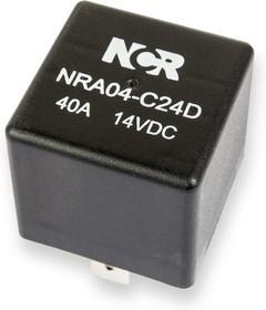 Фото 1/2 NRA-04-C-24D, Реле 1 пер. 24V / 40A, 14VDC