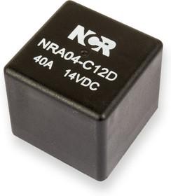 Фото 1/2 NRA-04-C-12D, Реле 1 пер. 12V / 40A, 14VDC