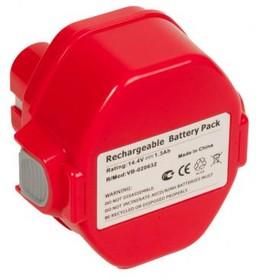(1433) аккумулятор для MAKITA (p/n: 1433/1434/1435/1435F/ 192699-A/193158-3), 1.3Ah 14.4V