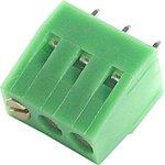 DG128V-03 (DT128V-03P) (XY128V-A-3P-5.0), Клеммник 3-контактный, 5мм