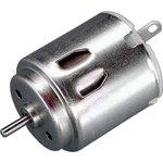 MOT1, Электромотор 3В, 13800 об/мин, 2.1Вт, 18.6 гхсм