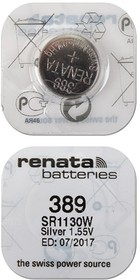 RENATA SR1130W 389 (0%Hg), Элемент питания