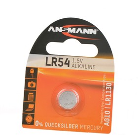 ANSMANN 5015313 LR54 (AG10) BL1, Элемент питания