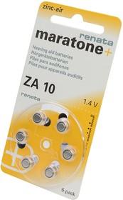 RENATA Zinc-Air 10 BL6, Элемент питания