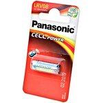 Panasonic Cell Power LRV08L/1BE LRV08 23A BL1 0%Hg, Батарея