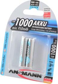ANSMANN 5030892-RU AAA 1000мАч maxE BL2, Аккумулятор