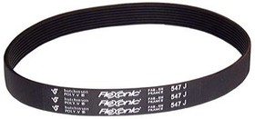 6PJ476, FLEXONIC J SECTION BELT, 476MM, 6 RIBS