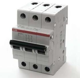 Выключатель автоматический модульный 3п C 63А 4.5кА SH203L ABB 2CDS243001R0634