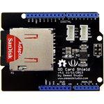 Фото 2/5 SD Card Shield V4, Arduino-совместимая плата расширения для подключения SD, SDHC и TF карт памяти.
