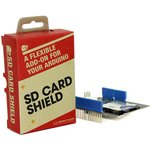 Фото 4/4 SD Card Shield V4, Arduino-совместимая плата расширения для подключения SD, SDHC и TF карт памяти.