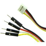 Фото 3/3 Grove - 4 pin Male Jumper to Grove 4 pin Conversion Cable (5 PCs per Pack), Набор проводов соединительных (F-M) 5 штук