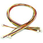 Grove - Universal 4 Pin Buckled 40cm Cable (5 PCs Pack) ...