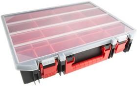 RC15, RACK CASE W/ 4 SIZES OF PICK BOXES X 15