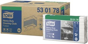 530178, Tork HD Cleaning Cloth Wh