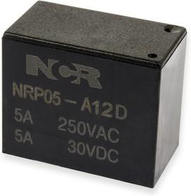 NRP05-A-12D, Реле 1 зам. 12V / 5A, 250VAC