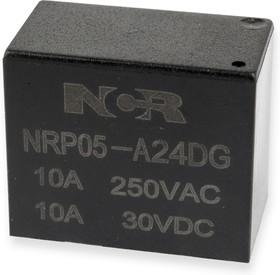 NRP05-A-24D-G, Реле 1 зам. 24V / 10A, 250VAC