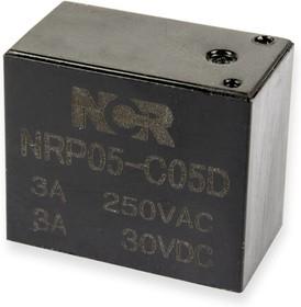 NRP05-C-05D, Реле 1 пер. 5V / 3A, 250VAC