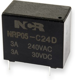 NRP05-C-24D, Реле 1 пер. 24V / 3A, 250VAC