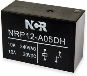 NRP-12-A-05D-H, Реле 1 зам. 5VDC / 10A, 250VAC