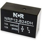 NRP-12-B-24D-H, Реле 1 разм. 24VDC / 10A, 250VAC