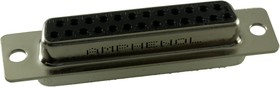 G17S2500110EU, D SUB CONNECTOR, STANDARD, 25 POSITION, RECEPTACLE