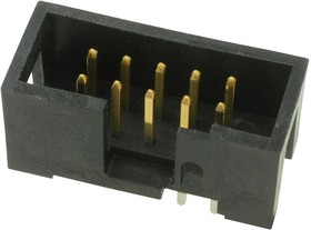 52601-S10-6LF, WIRE-BOARD CONNECTOR, HEADER, 10 POSITION, 2.54MM
