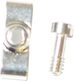 L17D20419EX, D SUB SCREW LOCK, MALE, #4-40, 0.28IN