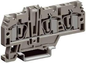 Зажим проходной HMM.4/1+2GR 4.5кв.мм DKC ZHM210GR
