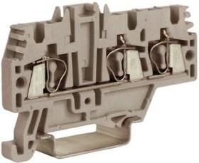 Изолятор прох. HMM.2/1+2GR 2.5кв.мм сер. ДКС ZHM510GR